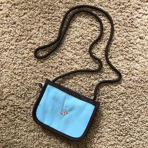 Sherpani blue and brown bag!